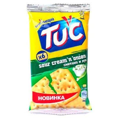 """Крекер """"Тuc"""" сметана-лук 21гр. (24шт.)"""