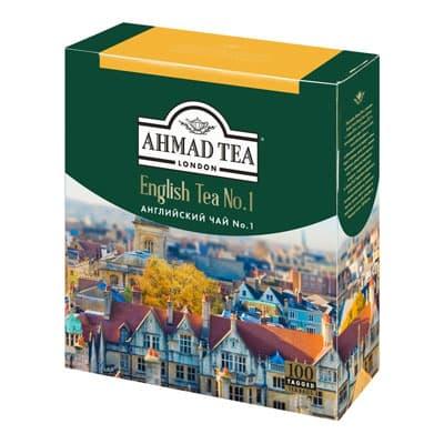Ahmad / Ахмад  Английский чай №1 (100 пак)