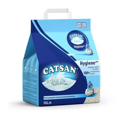 Наполнитель для кошачьих туалетов Катсан гигиенический 10 л
