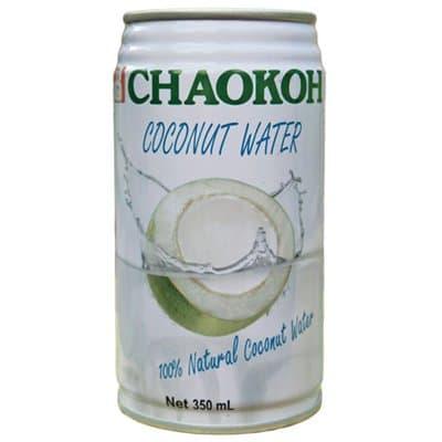 Кокосовая вода Chaokoh 0,35 литра, без газа, ж/б, 24 шт. в уп.
