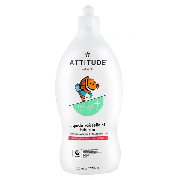 Средство для мытья посуды Attitude Эко-бэби 700мл.