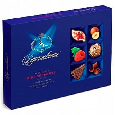 Конфеты Вдохновение Mini Desserts 165 гр