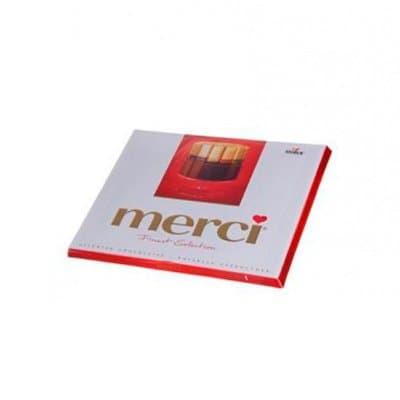 Конфеты Merci шоколадные ассорти 250г (1шт.) фото