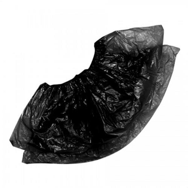 Бахилы стандарт плюс 2,6 гр черные 100 шт