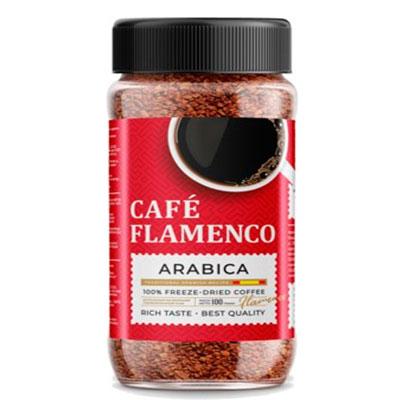 Купить со скидкой Кофе Cafe Flamenco Arabica растворимый 100 гр