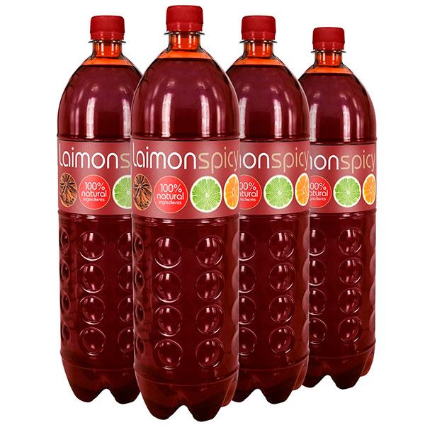 Напиток Laimon Fresh Spicy 1.5 литра, газ, пэт, 6 шт. в уп.
