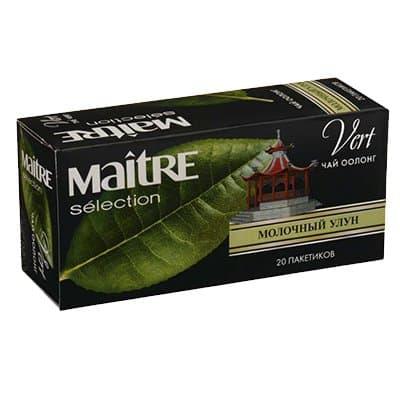 Чай Maitre Молочный Улун зеленый (20пак) фото