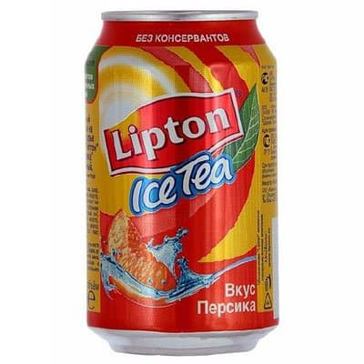 Lipton Ice Tea / Липтон Персик 0,33л ж/б (12шт)