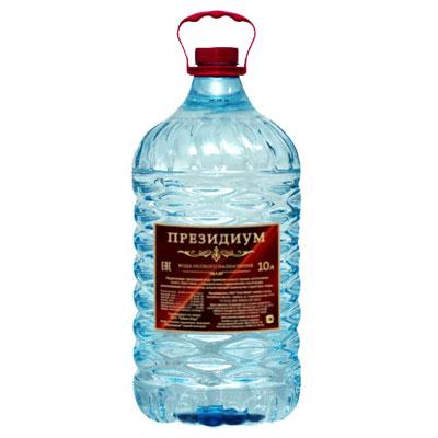 Вода Президиум ледниковая 10 литров