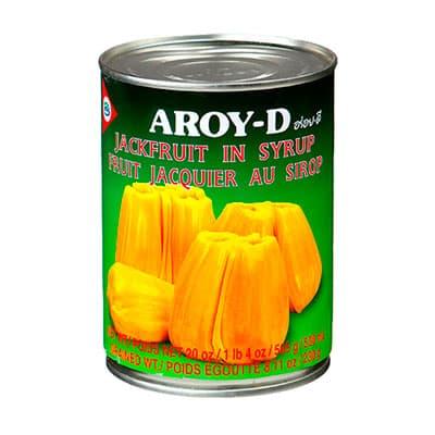 Джекфрут в сиропе Aroy-D ж/б 565 гр