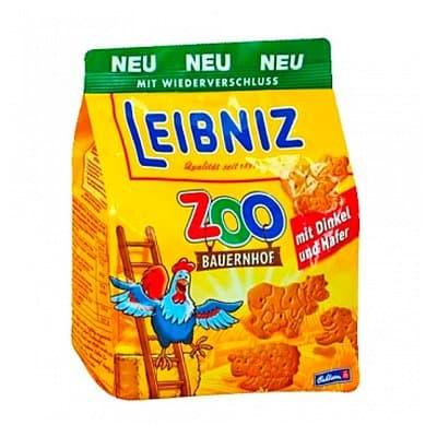 Печенье Leibniz Zoo original 100 гр