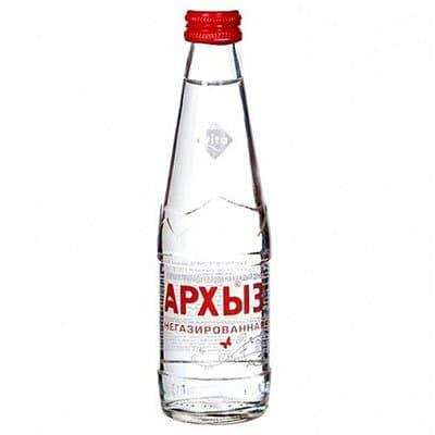 Купить со скидкой Вода Архыз 0.25 литра, без газа, стекло, 20 шт. в уп.
