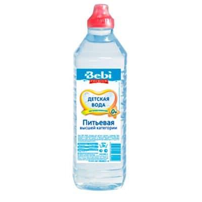 Вода Беби 0.5 литра, спорт, без газа, пэт, 8шт. в уп.