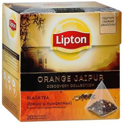 Lipton / Липтон Orange Jaipur (20пир.)