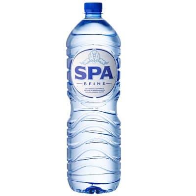 Вода Spa Reine 2 литра, без газа, пэт, 8шт. в уп.