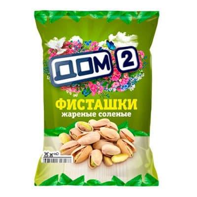 Фисташки Дом-2 жареные соленые 45 гр