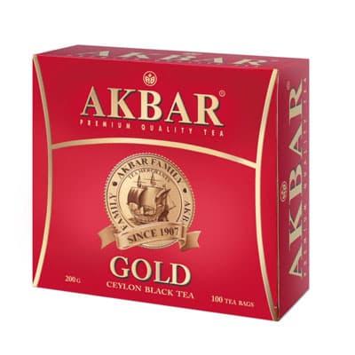 Akbar / Акбар золотой (100пак) фото