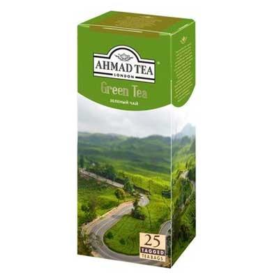 Ahmad / Ахмад зелёный (25 пакетиков)