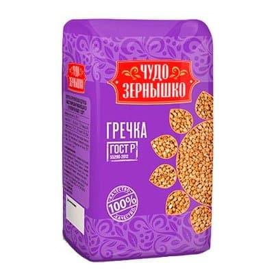 Крупа гречневая Чудо Зернышко 800 гр.
