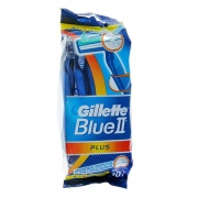 Одноразовые станки Gillette Blue II plus 10 шт.