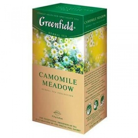 Greenfield / Гринфилд Camomile Meadow (25пак)