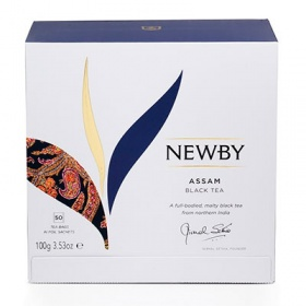 Чай Newby Assam Black tea чёрный 50 пак