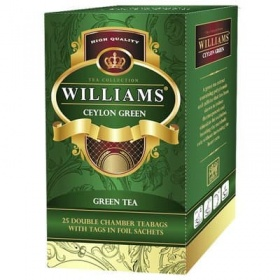 Чай зеленый Williams Ceylon Green (25 пак)