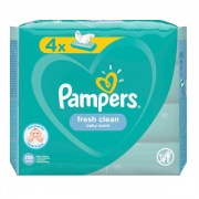 Салфетки детские Pampers Baby Fresh Clean 208 шт