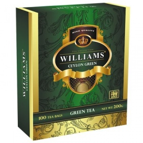 Чай зеленый Williams Ceylon Green (100 пак)