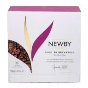 Чай Newby English Breakfast чёрный 50 пак