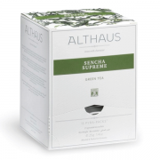Чай зеленый Althaus Sencha Supreme 15 пак. в уп.
