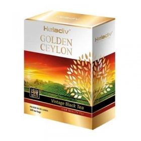 Чай Heladiv / Хеладив Golden Ceylon Vintage Black черный (100пак)